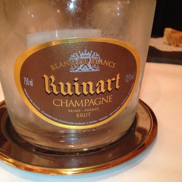 Ruinart Brut Blanc de Blancs Champagne Chardonnay NV