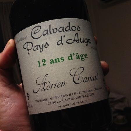 Adrien Camut Calvados du Pays d'Auge 12 ans d'Age NV
