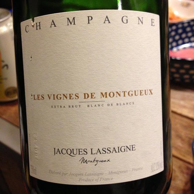 Les Vignes de Montgueux Extra Brut Blanc de Blancs Champagne Chardonnay NV