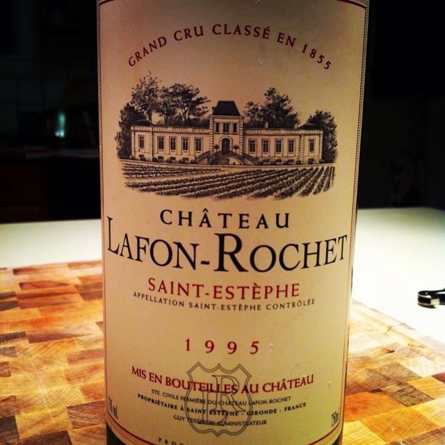 Saint-Estèphe Red Bordeaux Blend 1995