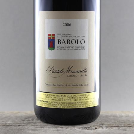 Cantina Bartolo Mascarello Barolo Nebbiolo 2006 (1500ml)