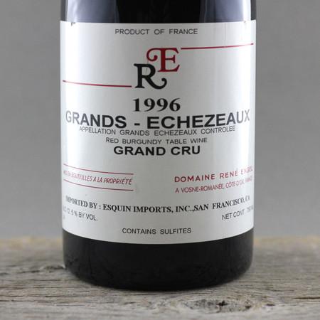Domaine René Engel Grands-Echezeaux Grand Cru Pinot Noir 1996