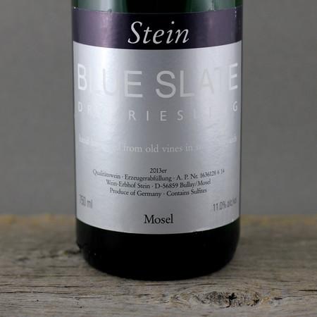 Wein-Erbhof Stein Blue Slate Dry Riesling 2013