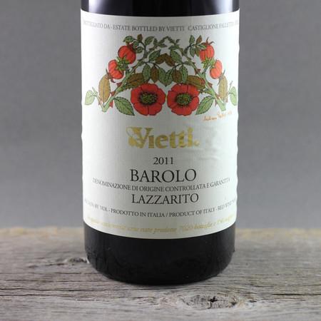 Vietti Lazzarito Barolo Nebbiolo 2011