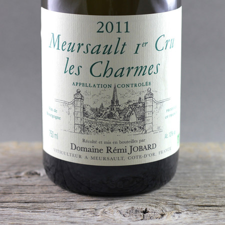 Domaine Rémi Jobard Charmes Meursault 1er Cru Chardonnay 2011