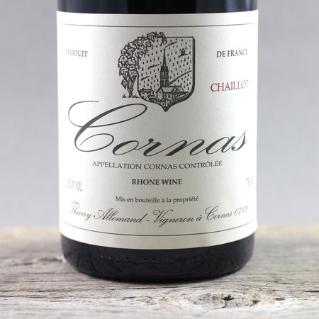 Thierry Allemand Chaillot Cornas Syrah 2001