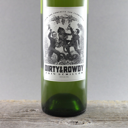 Dirty & Rowdy Skin and Concrete Egg Fermented Yountville Sémillon 2014