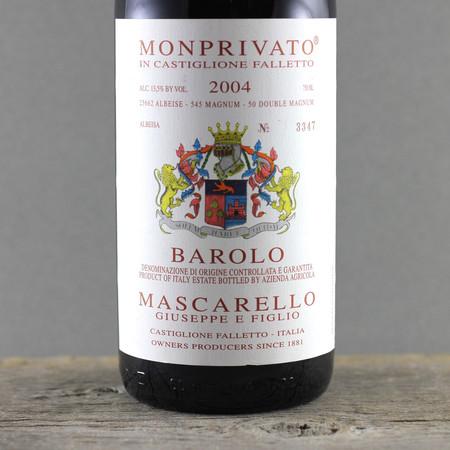 Giuseppe E Figlio Mascarello Monprivato di Castiglione Falletto Barolo Nebbiolo 2004