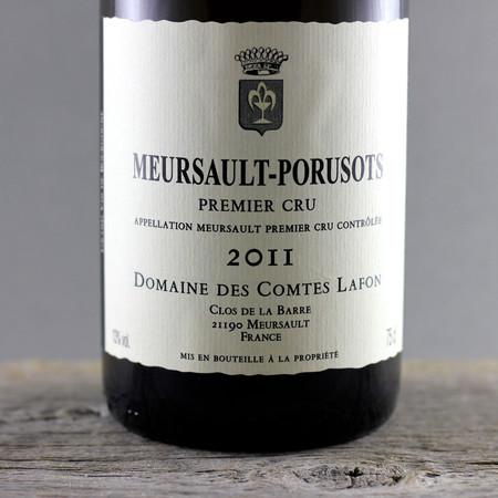 Domaine des Comtes Lafon Meursault-Porusots 1er Cru Chardonnay 2011