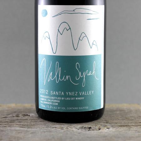 Vallin Wines Syrah 2012