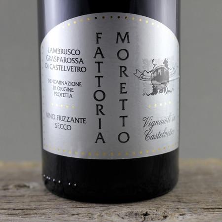 Fattoria Moretto Secco Grasparossa di Castelvetro Lambrusco NV