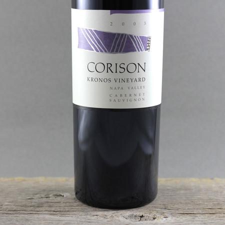 Corison Kronos Vineyard Cabernet Sauvignon 2003