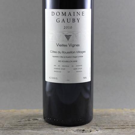 Domaine Gauby Vieilles Vignes Côtes du Roussillon Villages Red Rhone Blend 2010