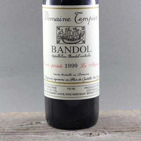 Domaine Tempier Cuvée Spéciale La Migoua Bandol Mourvedre Blend  1999