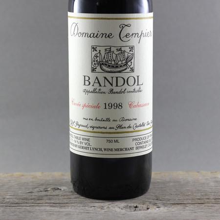 Domaine Tempier Cuvée Spéciale Cabassaou Bandol Mourvedre Blend  1998