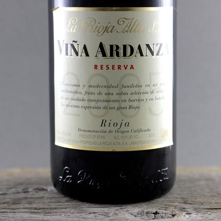 La Rioja Alta Viña Ardanza Rioja Tempranillo Blend 2007