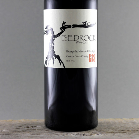 Bedrock Wine Co. Evangelho Vineyard Heritage Zinfandel Blend 2013