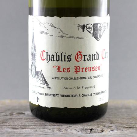 Vincent Dauvissat Les Preuses Chablis Grand Cru Chardonnay 2012