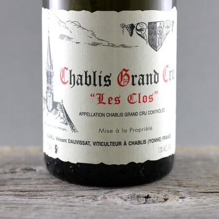 "Vincent Dauvissat ""Les Clos"" Chablis Grand Cru Chardonnay 2012"