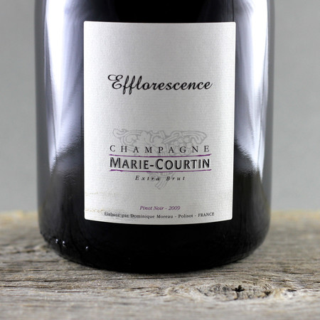 Marie Courtin Efflorescence Extra Brut Champagne Pinot Noir 2009