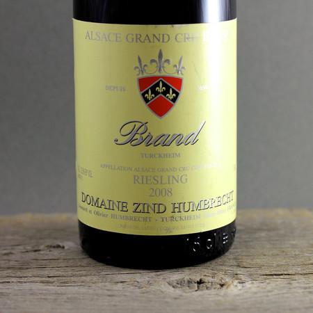 Domaine Zind Humbrecht Brand (Turckheim) Grand Cru Riesling 2008
