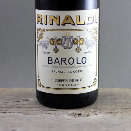 Giuseppe Rinaldi Brunate Le Coste Barolo Nebbiolo 1997