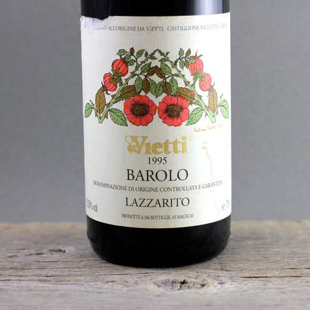 Vietti Lazzarito Barolo Nebbiolo 1995