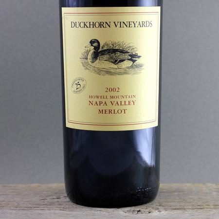 Duckhorn Vineyards Howell Mountain Cabernet Sauvignon Blend  2002