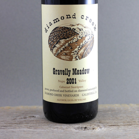 Diamond Creek Vineyards Gravelly Meadow Cabernet Sauvignon 2001