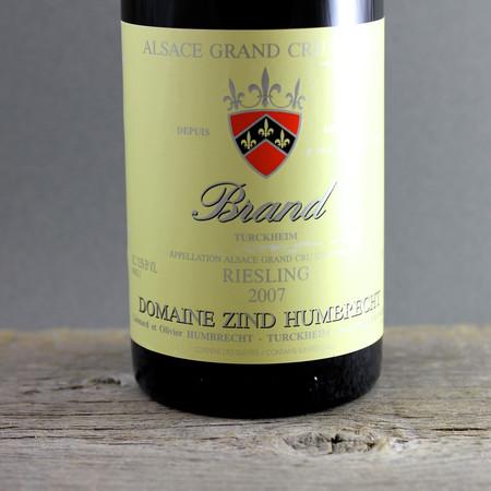 Domaine Zind Humbrecht Brand (Turckheim) Grand Cru Riesling 2007