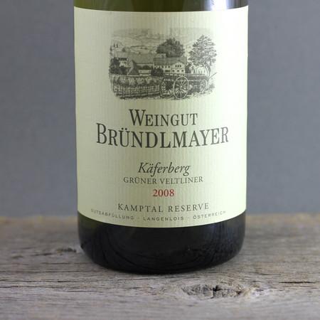 Weingut Bründlmayer Käferberg Reserve Grüner Veltliner  2008
