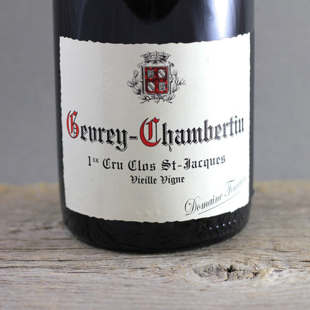 Domaine Fourrier Clos St. Jacques Vieilles Vignes Gevrey-Chambertin 1er Cru Pinot Noir 2007