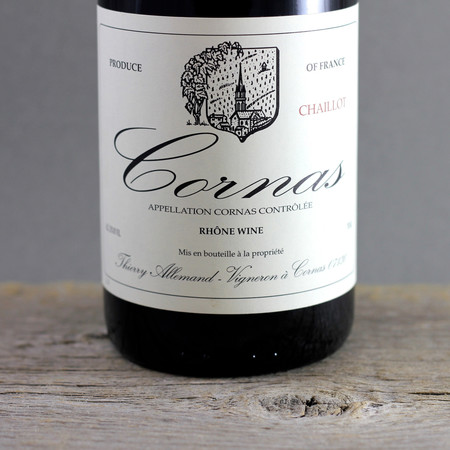 Thierry Allemand Chaillot Cornas Syrah 2011