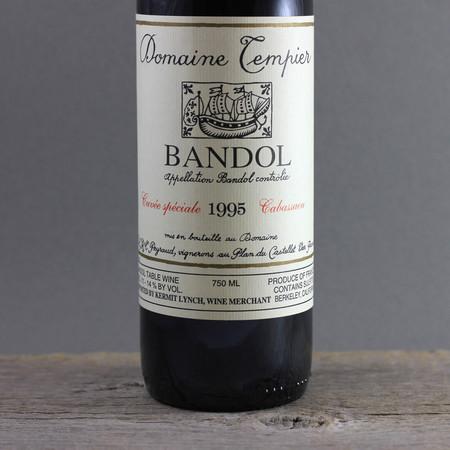 Domaine Tempier Cuvée Spéciale Cabassaou Bandol Mourvedre Blend  1995