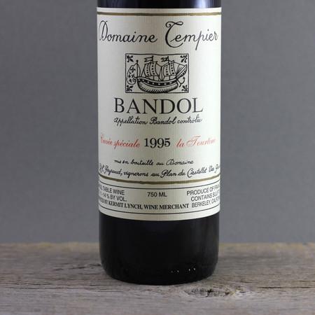 Domaine Tempier Cuvée La Tourtine Bandol Mourvedre Blend 1995
