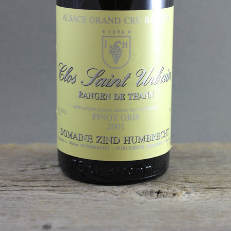 Domaine Zind Humbrecht Clos Saint Urbain Rangen de Thann Pinot Gris 2001