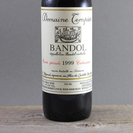 Domaine Tempier Cuvée Spéciale Cabassaou Bandol Mourvedre Blend  1999
