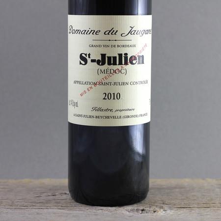 Domaine du Jaugaret St. Julien Red Bordeaux Blend 2010