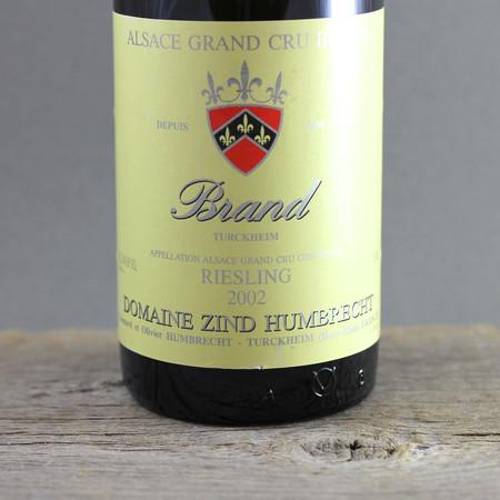 Domaine Zind Humbrecht Brand (Turckheim) Grand Cru Riesling 2002