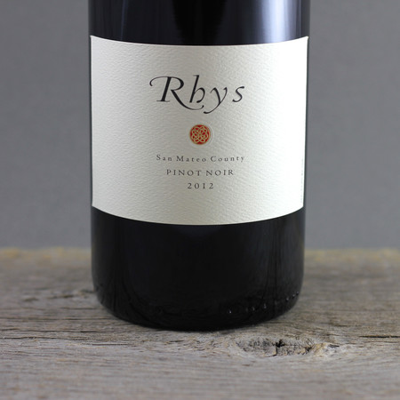 Rhys Vineyards San Mateo County Pinot Noir 2012