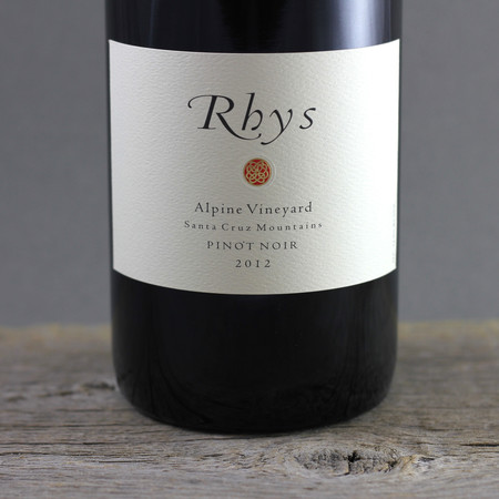 Rhys Vineyards Alpine Vineyard Pinot Noir 2012