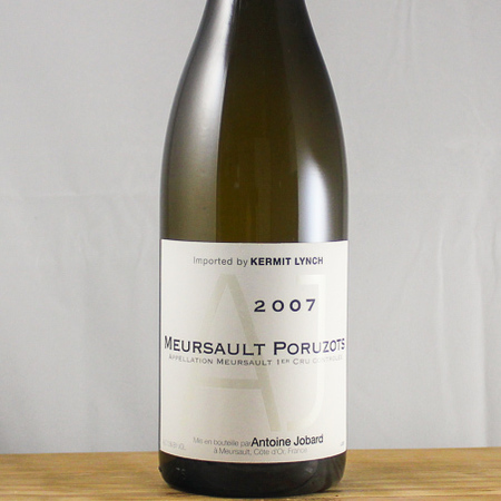 Domaine Antoine Jobard Les Poruzots Meursault 1er Cru Chardonnay 2007