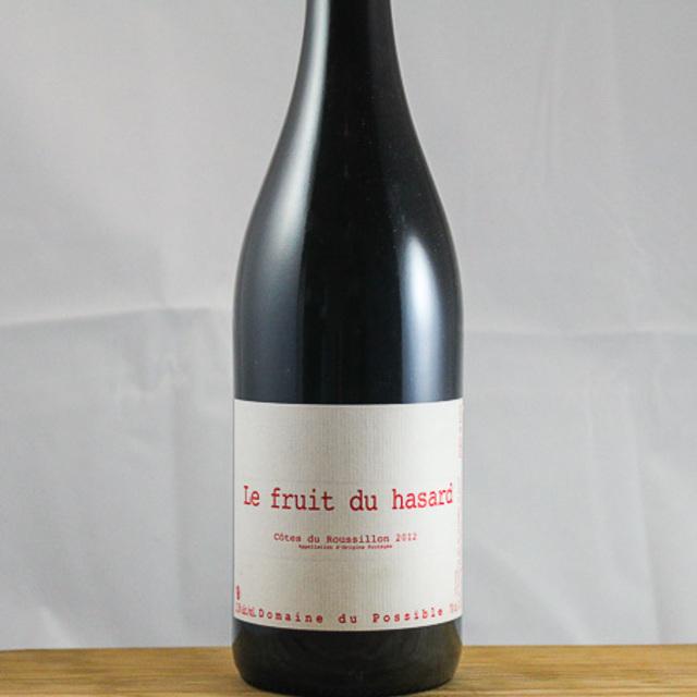 Le Fruit du Hasard Côtes du Roussillon Grenache Blend 2012
