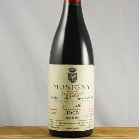 Domaine Comte Georges de Vogüé Cuvée Vieilles Vignes Musigny Grand Cru Pinot Noir 1993