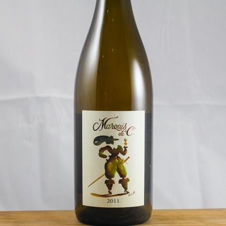 Domaine de la Garreliere Marquis de C Touraine Chenin Blanc-Chardonnay Blend 2011