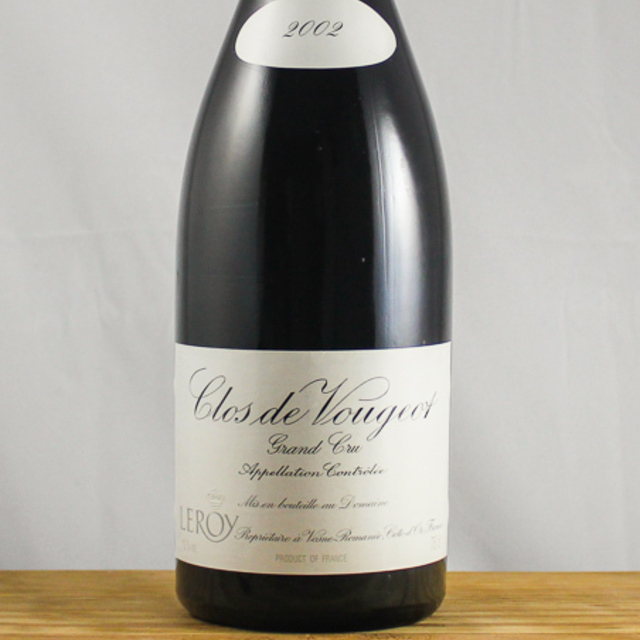 Clos de Vougeot Grand Cru Pinot Noir 1999