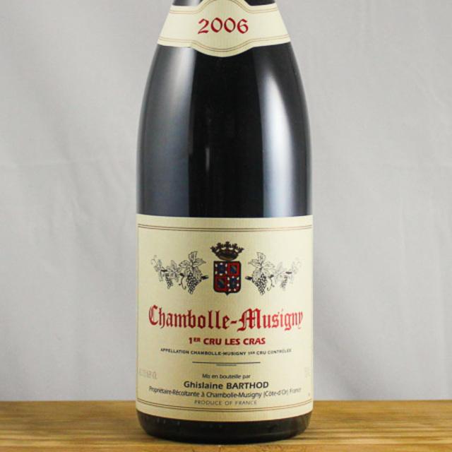 Les Cras Chambolle-Musigny 1er Cru Pinot Noir 2006