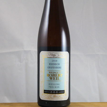Weingut Robert Weil Kiedricher Gräfenberg Erstes Gewächs Trocken Riesling 2010