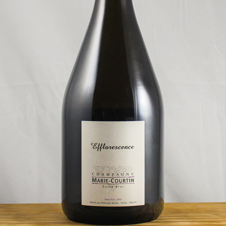 Marie Courtin Efflorescence Extra Brut Champagne Pinot Noir 2012