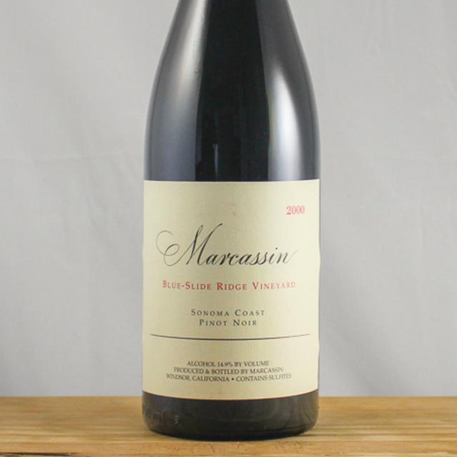 Blue-Slide Ridge Vineyard Pinot Noir 2000